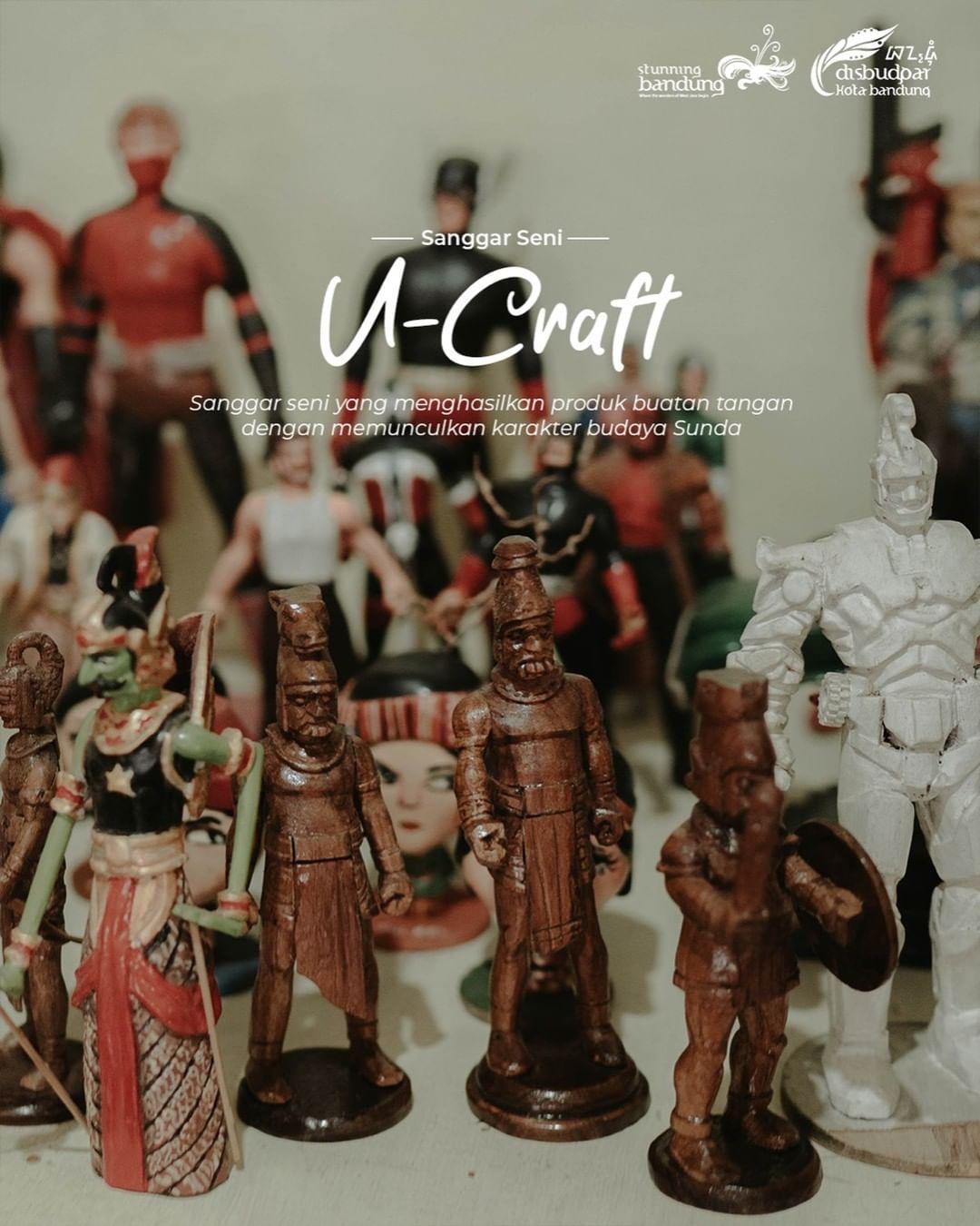 Sanggar Seni Ukir dan Lukis Ucraft dalam Pelestarian Budaya Sunda