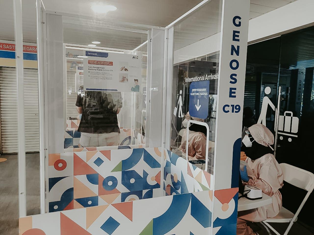 Tes GeNose C19 mulai dilaksanakan di Bandara Husein Sastranegara